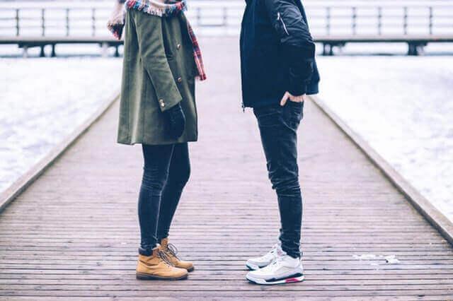 coppia che si guarda